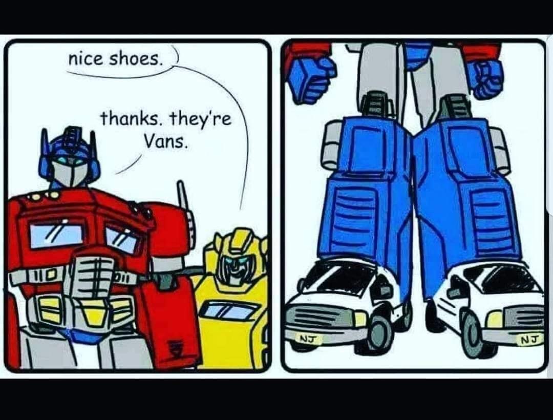 Autobots assemble - meme