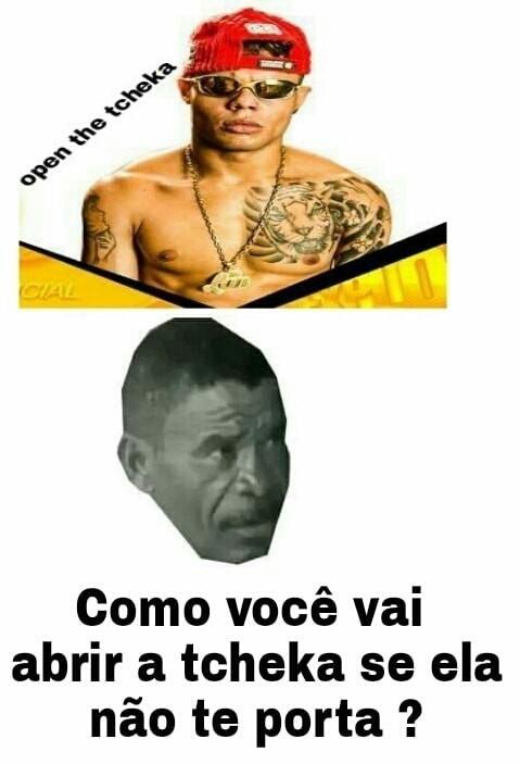 FUNKEIRO NAO É GENTE - meme