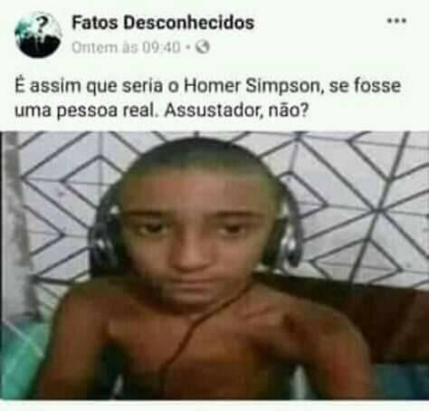 Homer baiano - meme