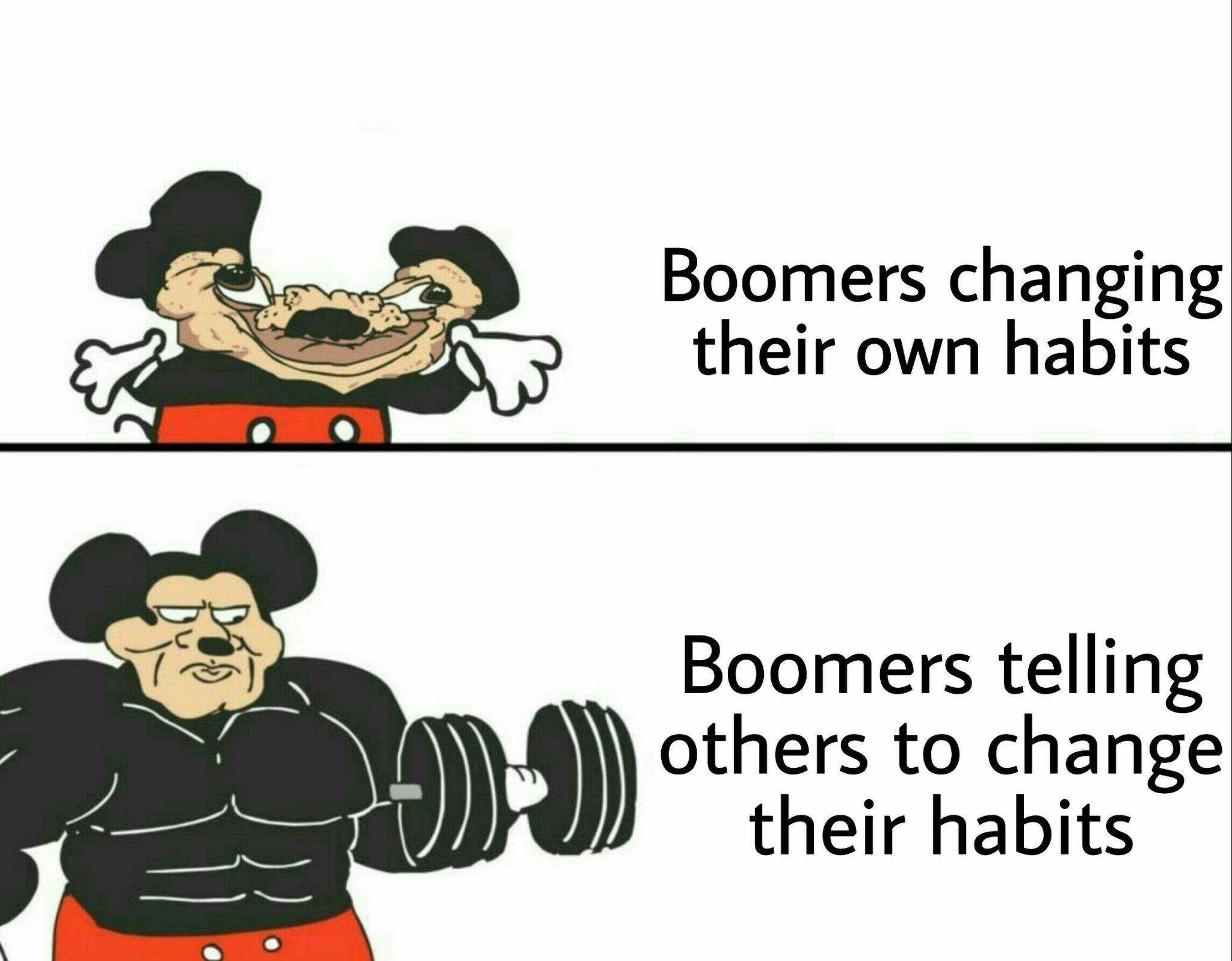 Booooomers - meme