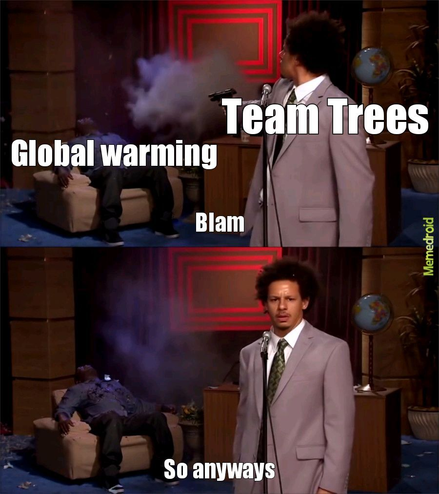 I am The lorax who speaks for the trees - meme