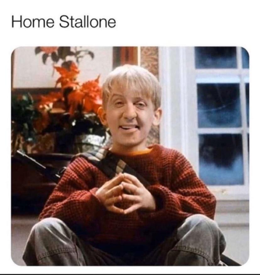 home Stallone - meme