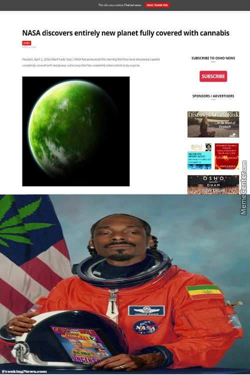 Cannabis planet - meme