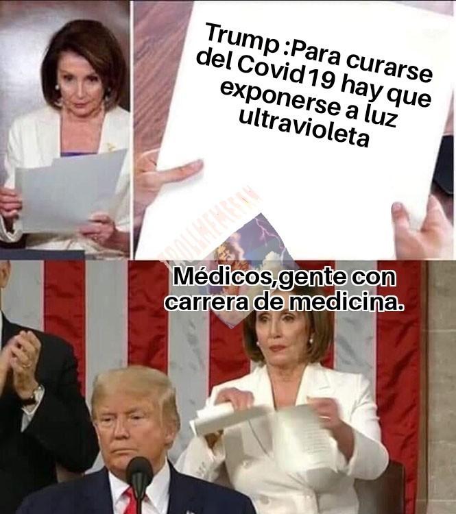 El Trump tiene unas ideas... - meme