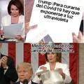El Trump tiene unas ideas...