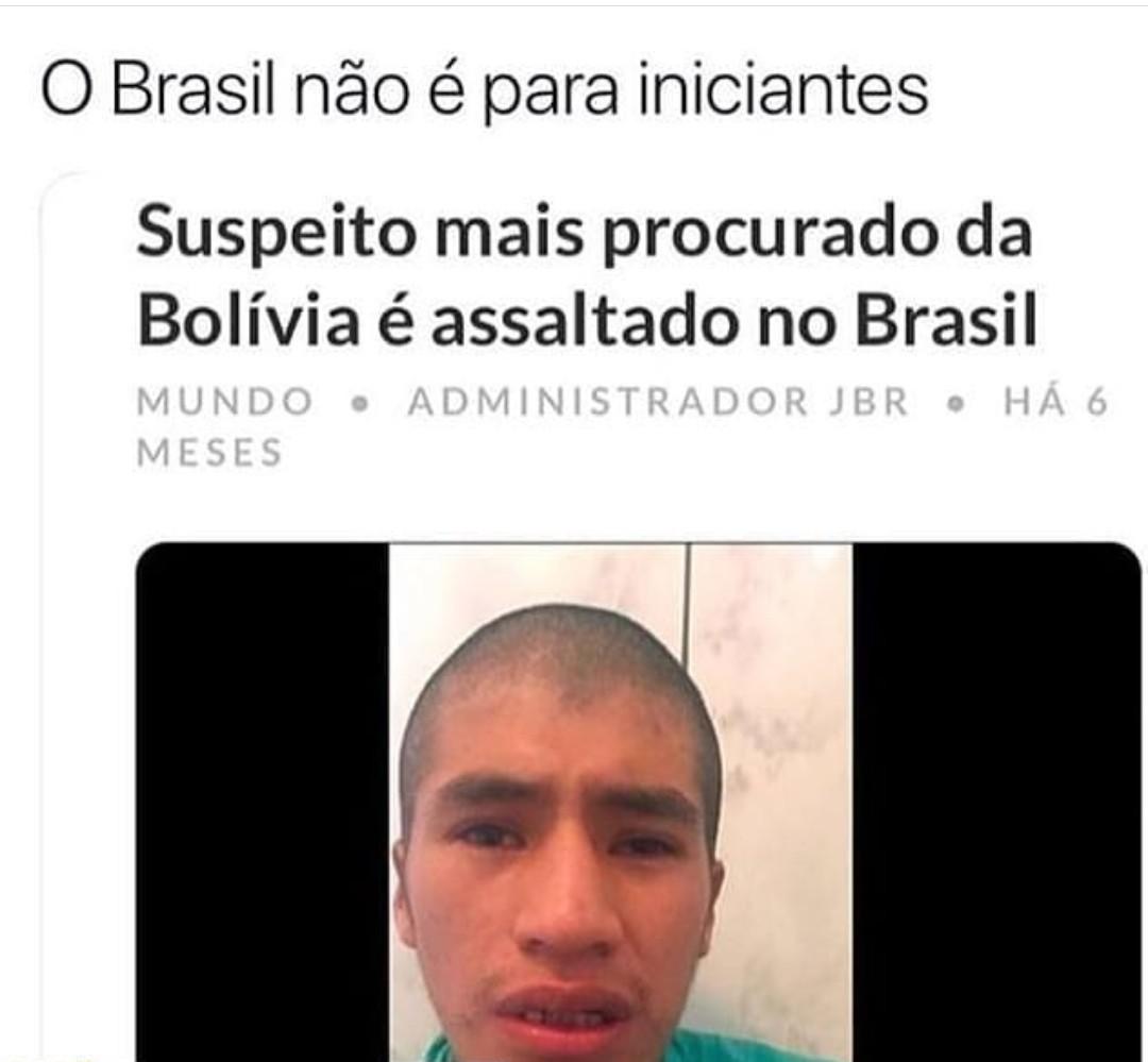 Brasileiros são brabos - meme