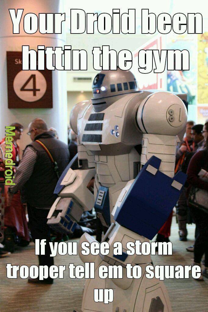 Gym life - meme