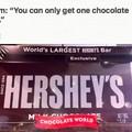 It is one bar.