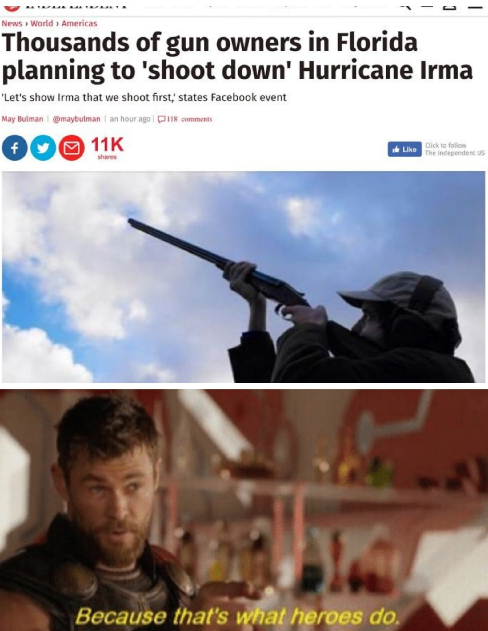 Florida men are the best we have... - meme