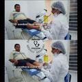 Olho de peixe - Meme médico
