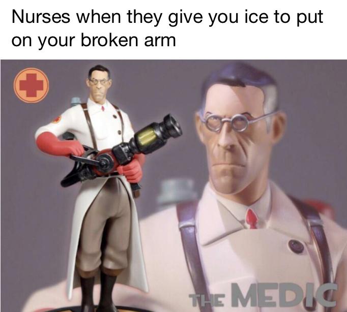 The medic - meme