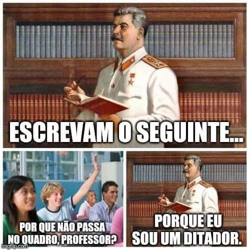 Essa é a tal ditadura - meme