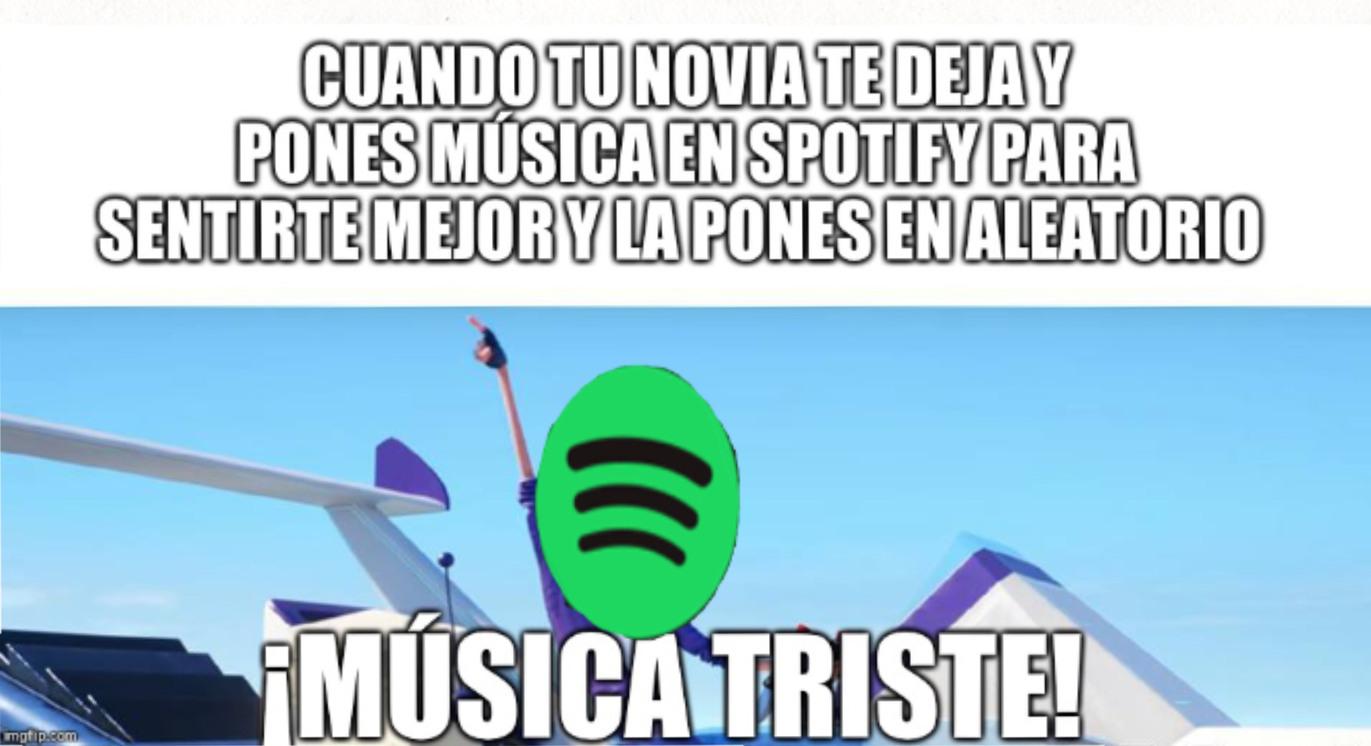 Spotify - meme