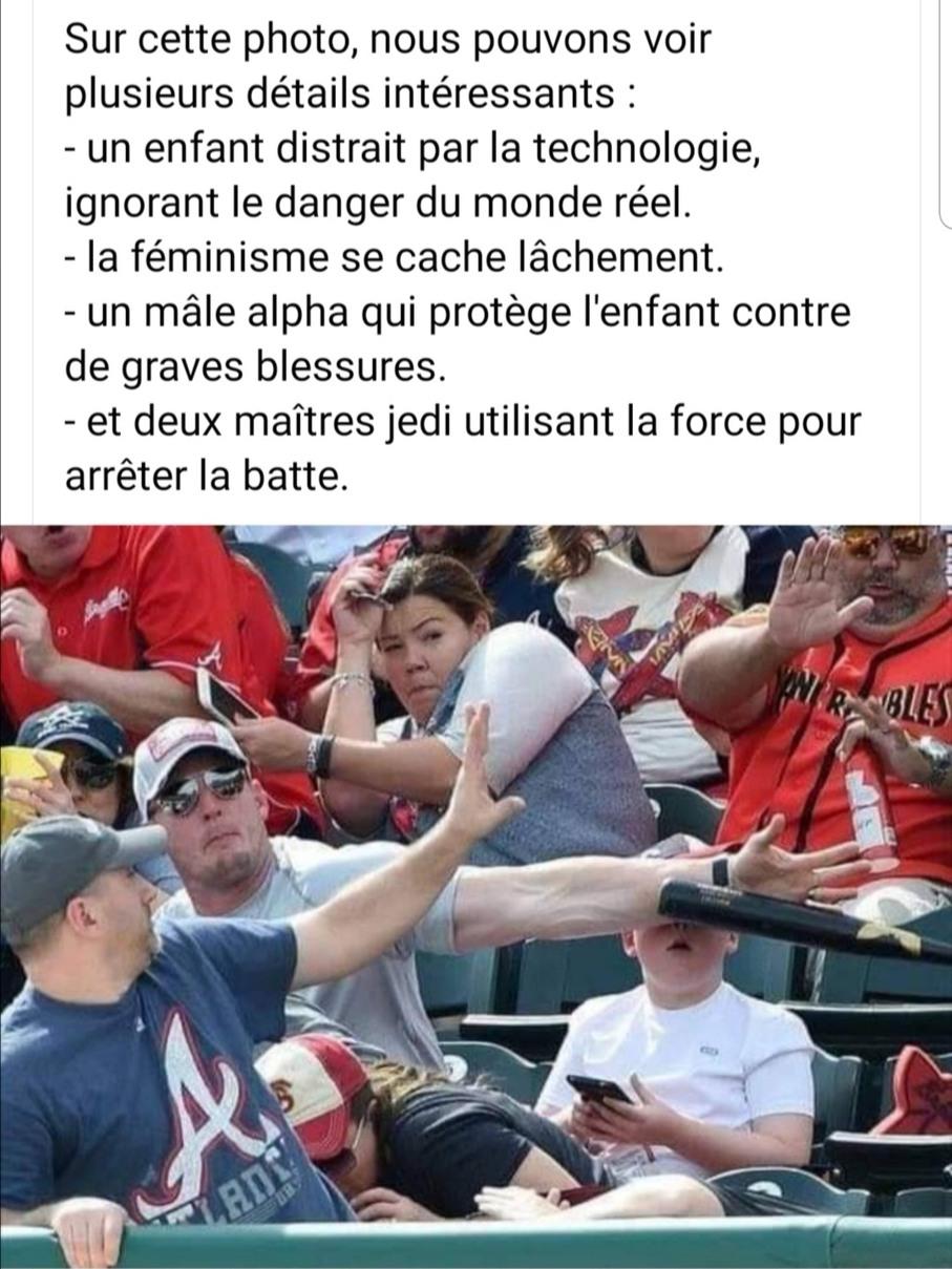 Mâle alpha > féministe - meme