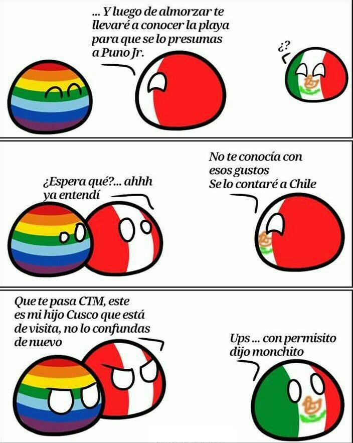 La bandera Inca y LGBT es la misma - meme