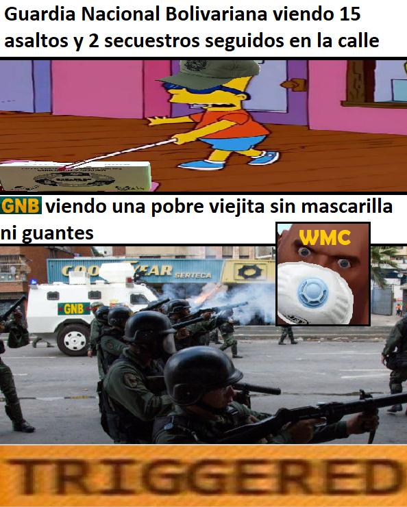 Guardia Nacional Bolivariana - meme