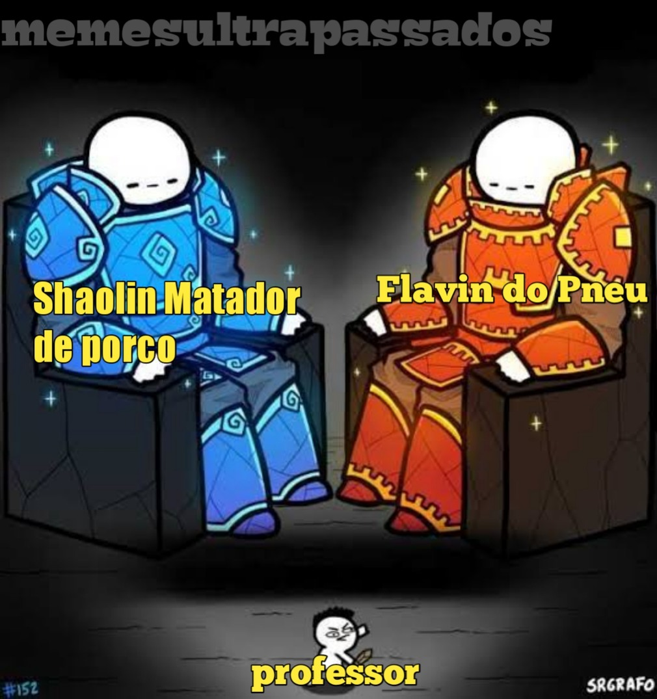 Shaolin - meme