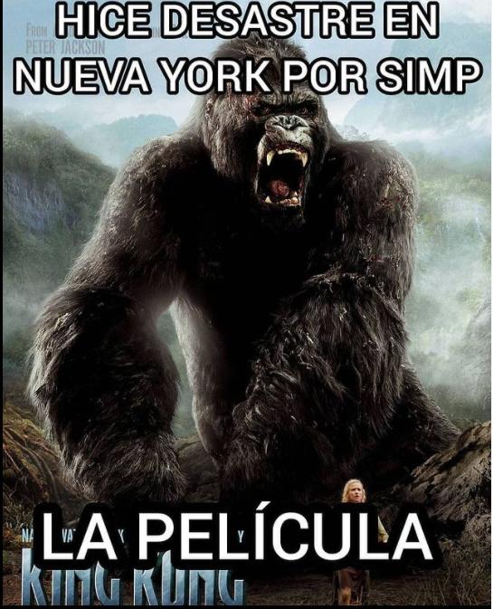 Kong la peli uuuu - meme