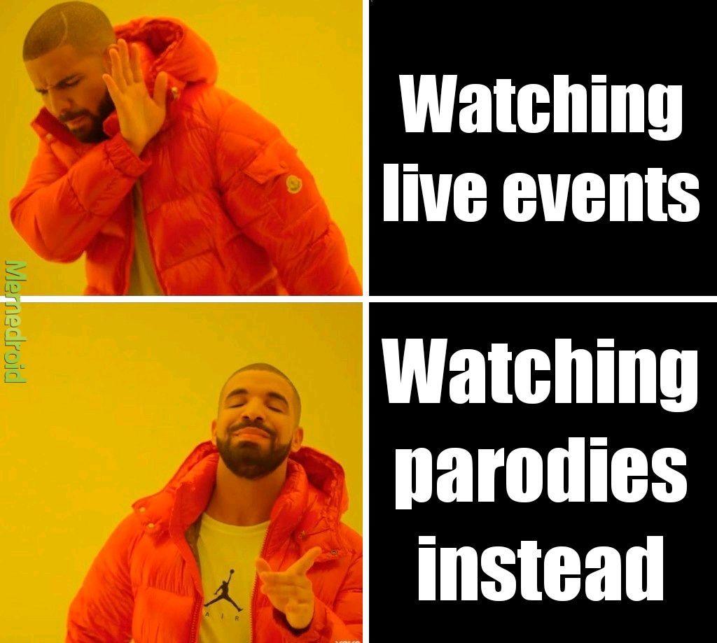 Launch event - meme