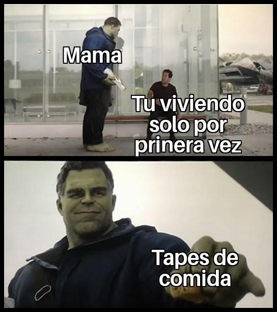 Que haria sin mama - meme