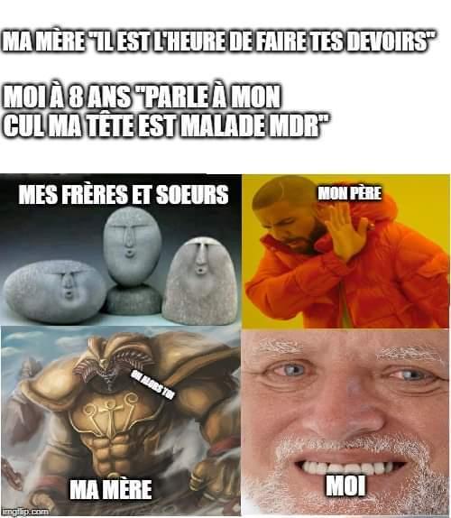 Combo de meme de pierre