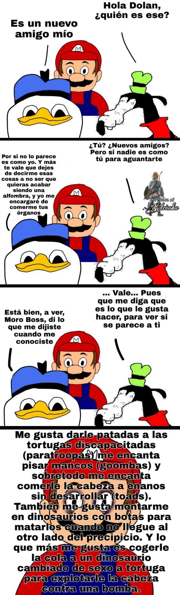 GOOBY PLS VERSIÓN MARIO BROS - meme