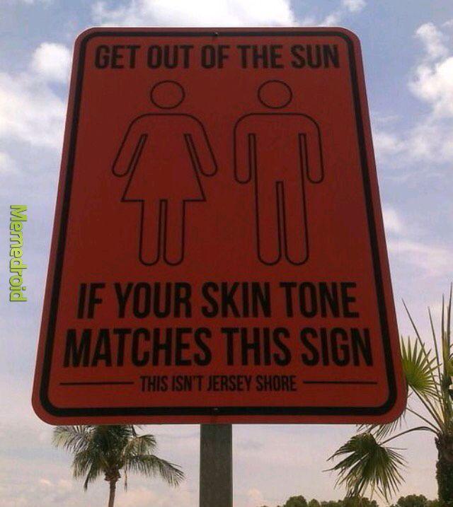 Sunburned - meme