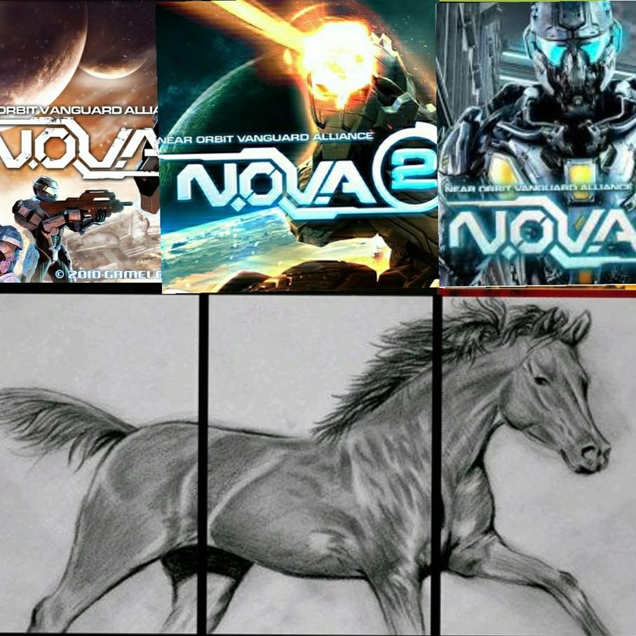 N.o.v.a. legacy no cuenta y es mal juego la saga n.o.v.a :son: - meme