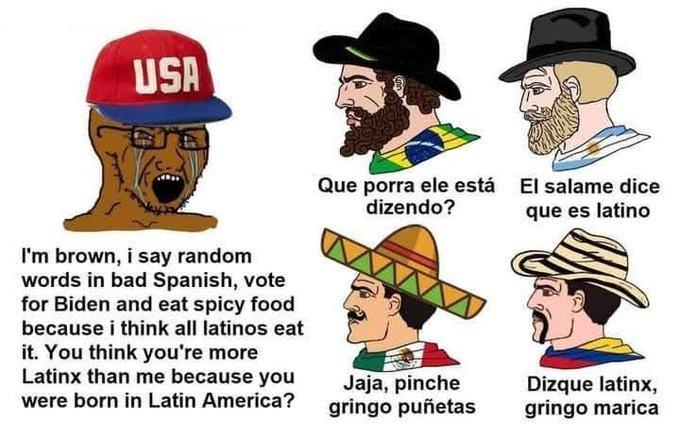 """""""Latinx"""" xdxdxd - meme"""