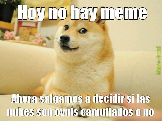 Hoy no hay meme