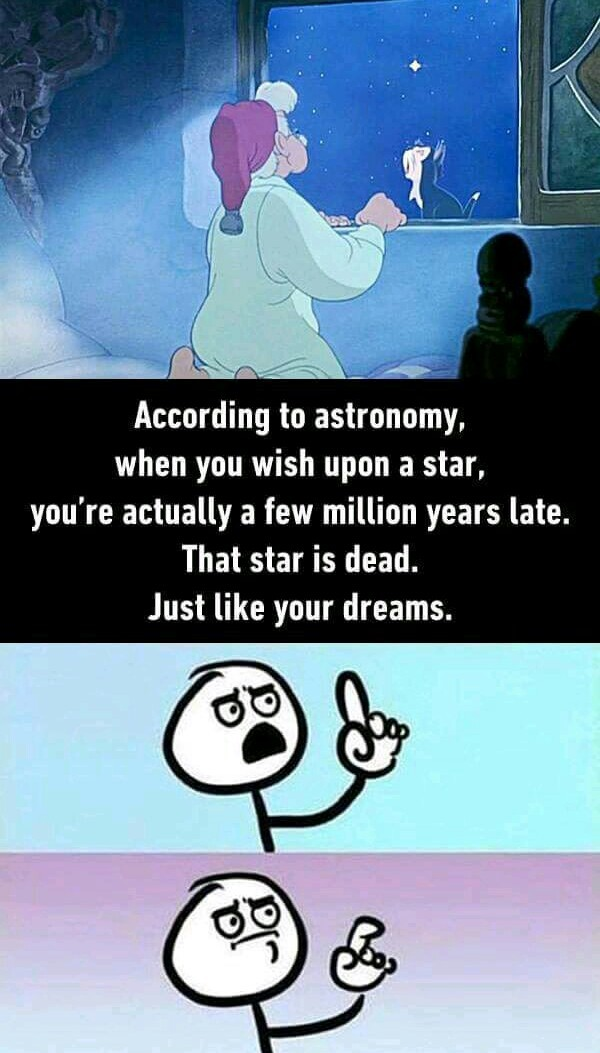 True,Because I Study Astronomy - meme