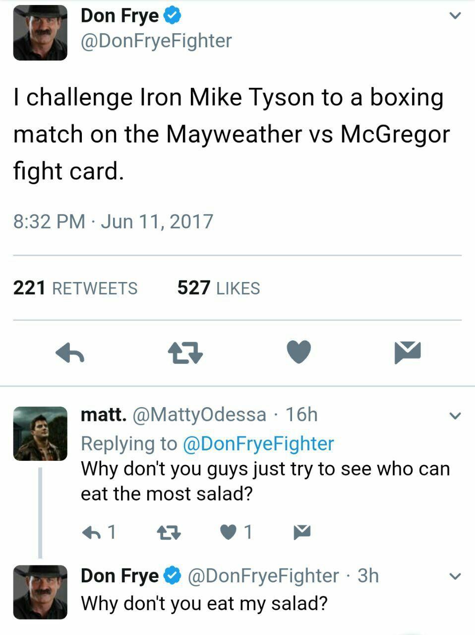 Salad Savage - meme