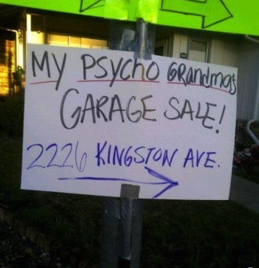Psycho granny sale - meme