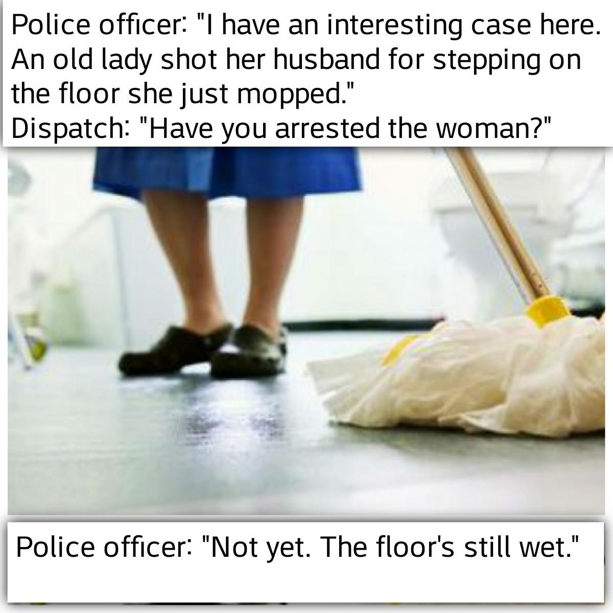 Mopping - meme