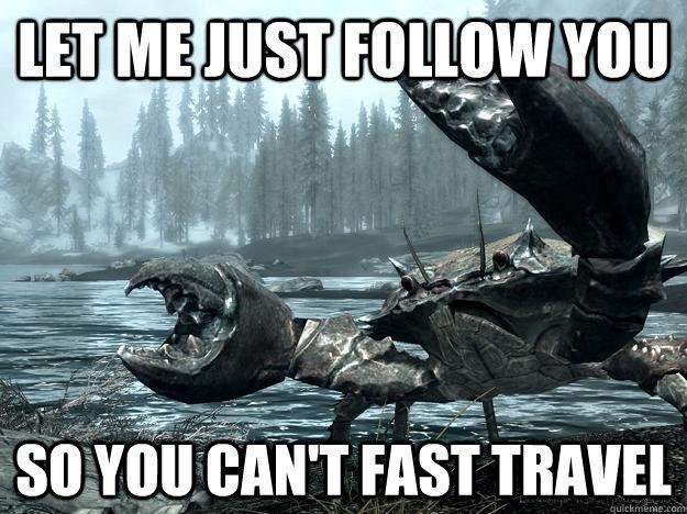 First World Skyrim Problems