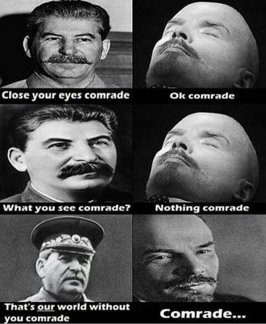 Comrade - meme