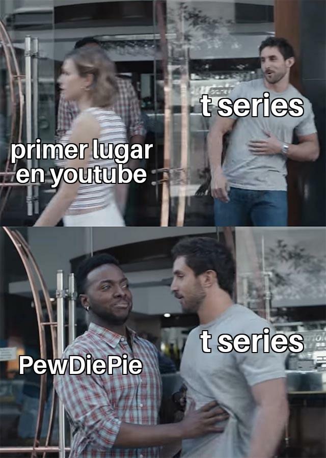 Suscríbete a PewDiePie - meme