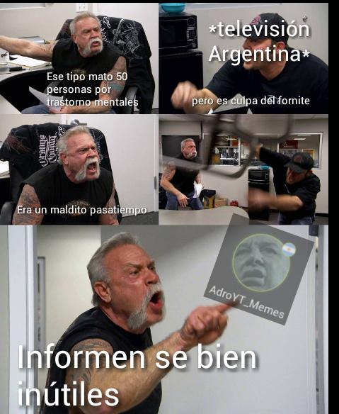 Decadencia maxima - meme