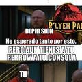 Depresión vs perro