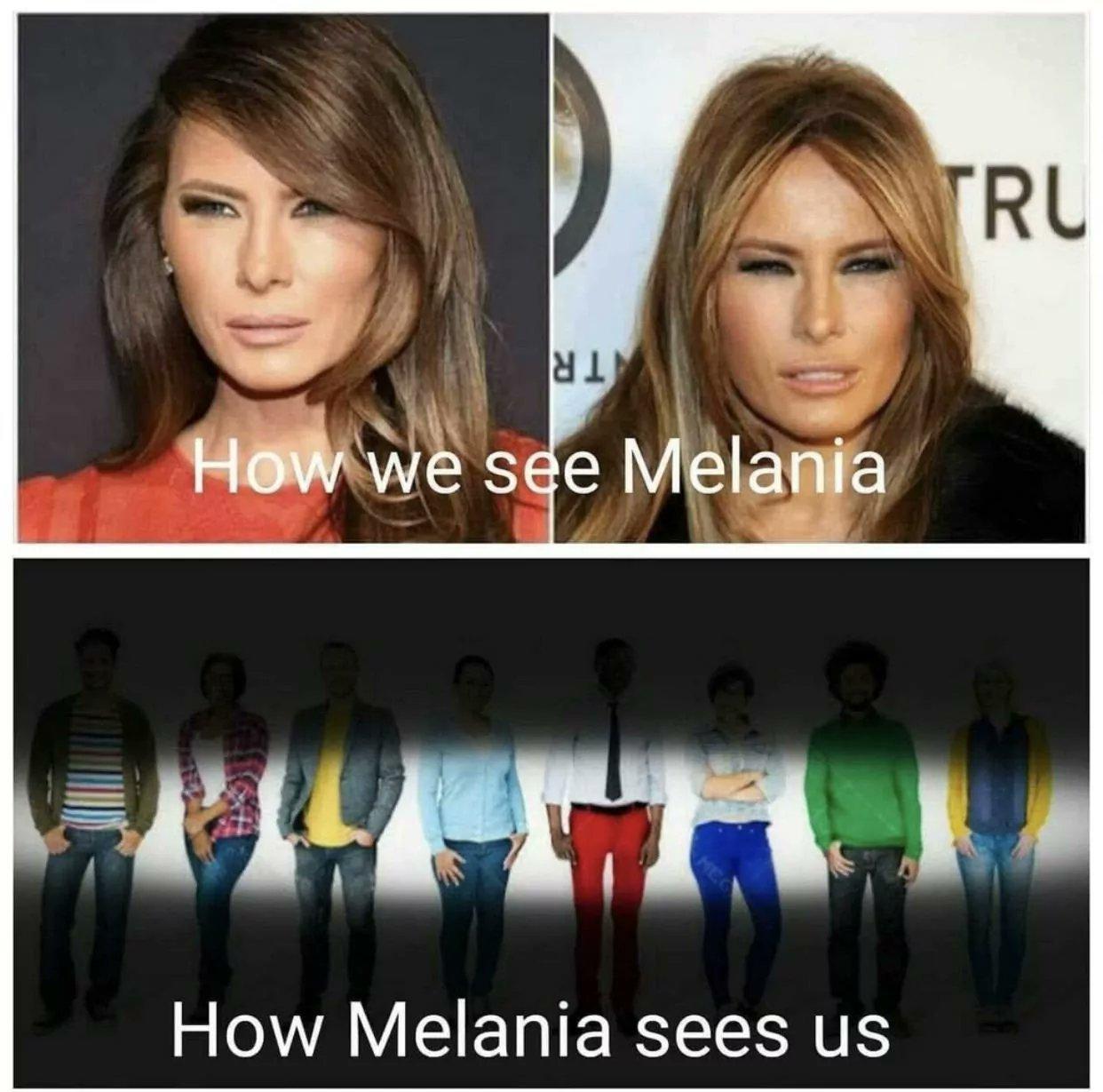 Melania - meme