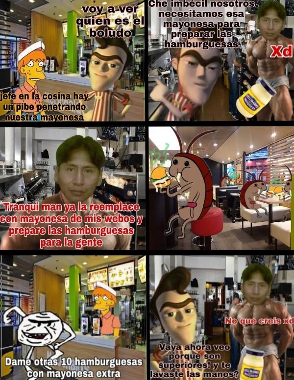 SALSA DE PERUANO XDDDDDDDDD - meme