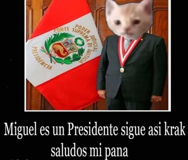 Miguel se volvio Presidente!! Viva Miguel!!!! - meme