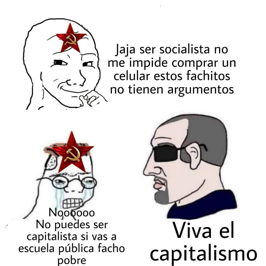 ARRIBA EL CAPITALISMO - meme