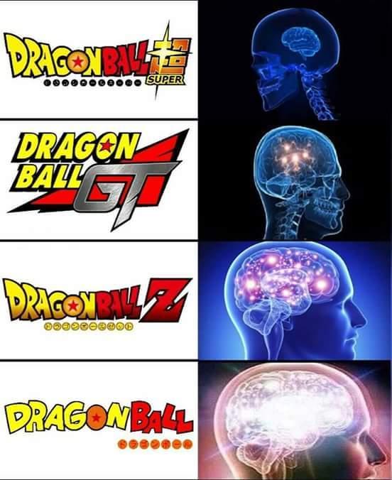 Dragon ball !!!! - meme