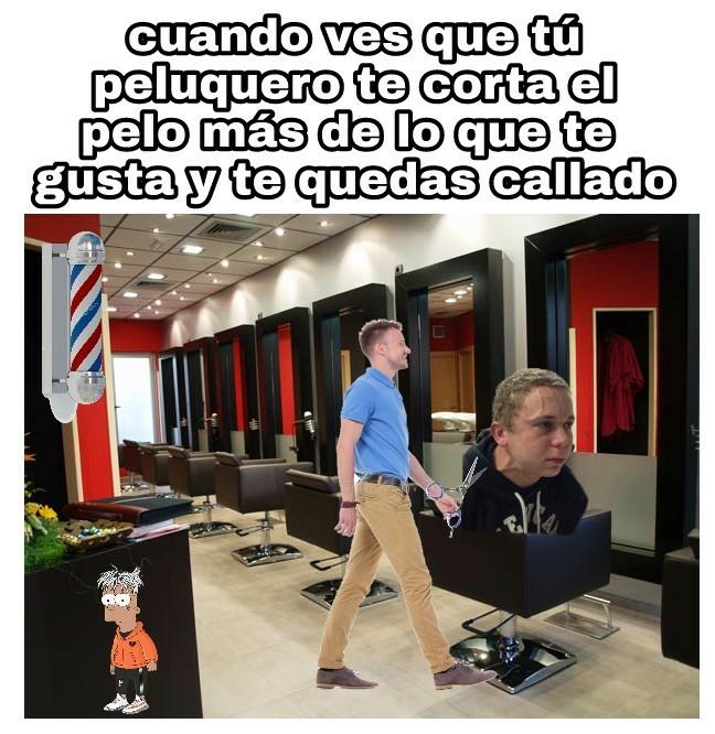 Peluqueros - meme