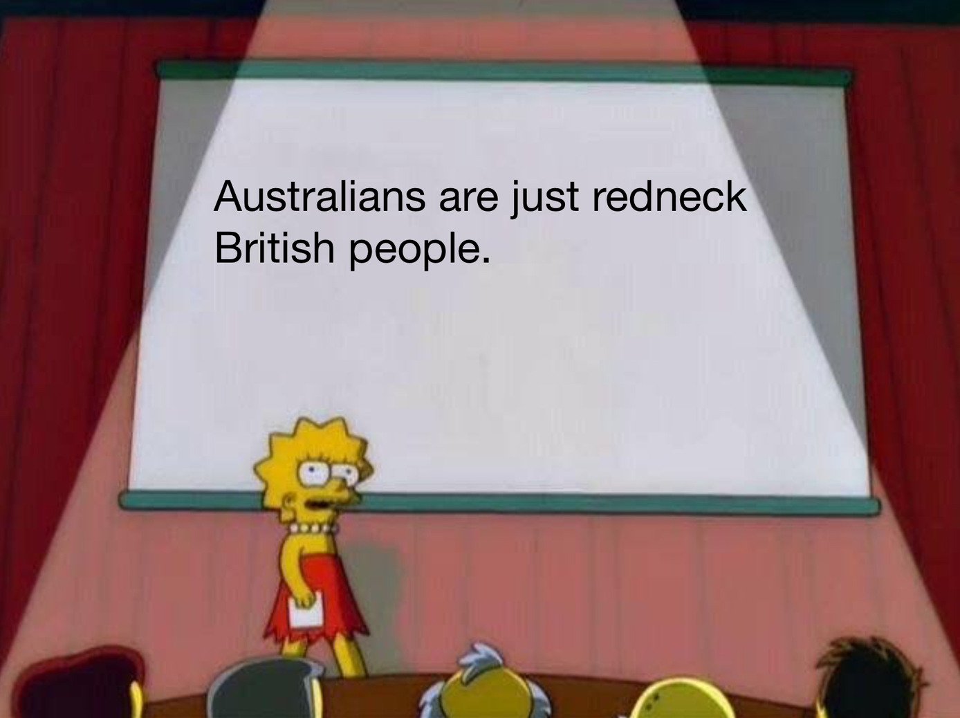 Them redneck redcoats - meme