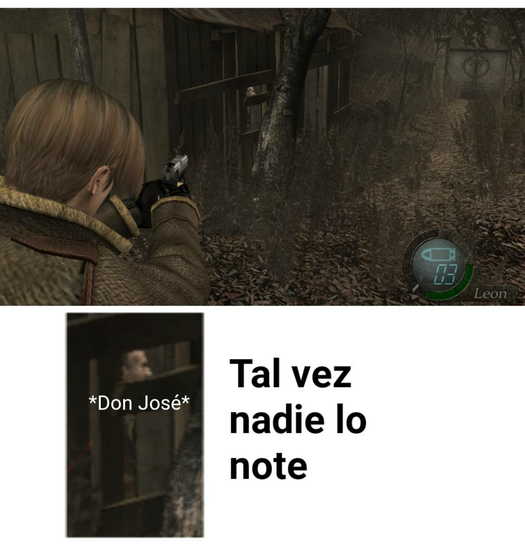 Resident Evil 4 - meme