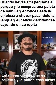 El señor del bigote es sexy - meme