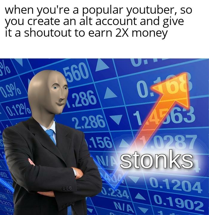Real Stonks - meme