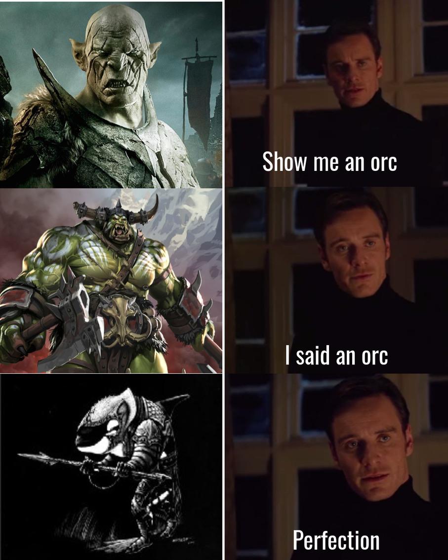 True orc - meme
